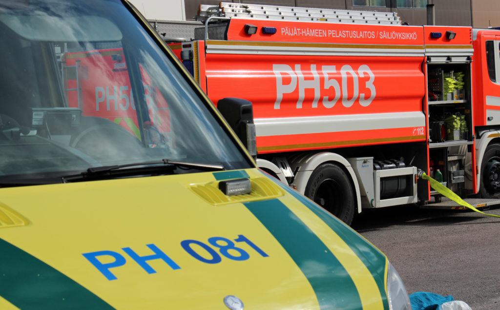 Ambulanssi ja paloauto, Päijät-Hämeen pelastuslaitos